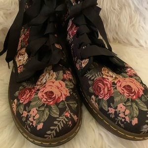 Doc Martens canvas boots